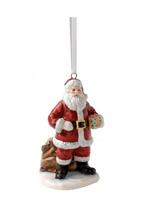 Royal Doulton Traditional Christmas Santa With Sack Ornament Collectable New