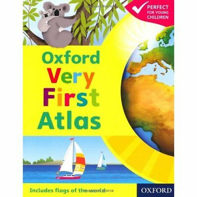 Oxford Very First Atlas Paperback 2011 - Paperback NEW Wiegand, Dr Pat 2011-01