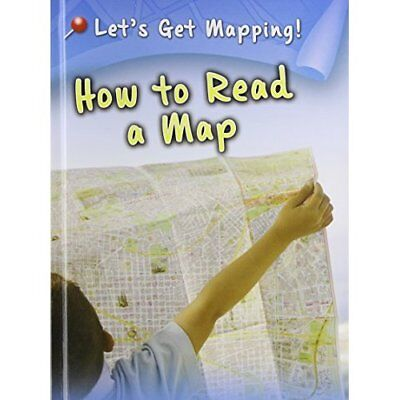 How to Read a Map - Library Binding NEW Waldron, Melani 2013-01