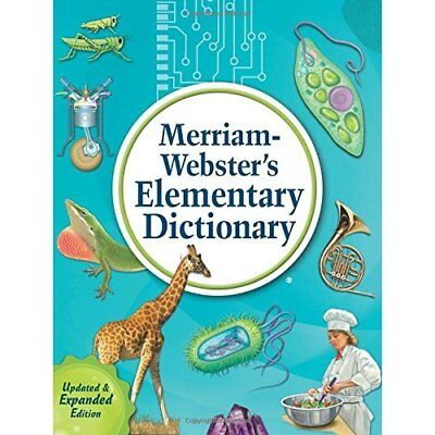 Merriam-Webster's Elementary Dictionary - Hardcover NEW Merriam-Webster 2013-08-