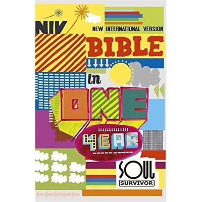 NIV Soul Survivor Bible in One Year - Paperback NEW Version, New In 2011-07-21