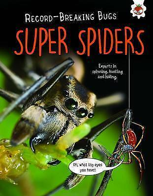 Super Spiders - Record-Breaking Bugs by Matt Turner | Paperback Book | 978191068