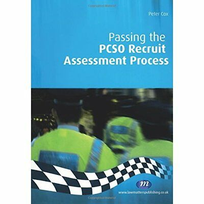 Passing the PCSO Recruit Assessment Process (Practical  - Paperback NEW Cox, Pet