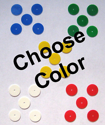 Girl Scout 5 COLORED DISCS for STAR MEMBERSHIP PIN Blue Green Yellow Disk CHOOSE