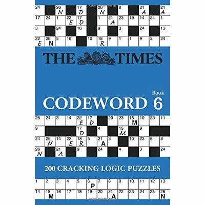 The Times Codeword 6 (Times Mind Games) - Paperback NEW The Times Mind  2015-07-