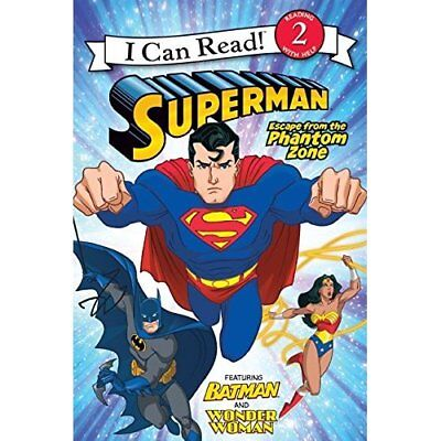 Superman: Escape from the Phantom Zone (I Can Read - Le - Paperback NEW Sazaklis