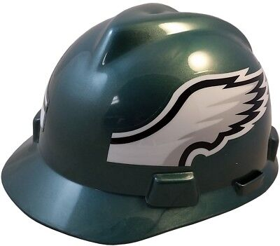 NFL Philadelphia Eagles Hard Hat - MSA V-Guard Team Hardhat