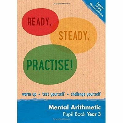 Year 3 Mental Arithmetic Pupil Book: Maths KS2 (Ready,  - Paperback NEW Keen Kit