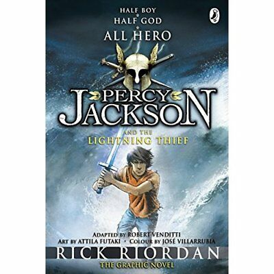 Percy Jackson and the Lightning Thief: The Graphic Nove - Paperback NEW Riordan,