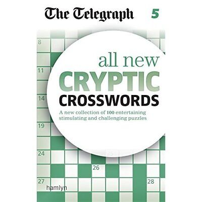 The Telegraph All New Cryptic Crosswords 5 (The Telegra - Paperback NEW THE TELE