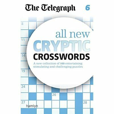 The Telegraph All New Cryptic Crosswords 6 (The Telegra - Paperback NEW THE TELE