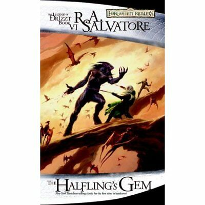 The Halfling's Gem: The Legend of Drizzt, Book VI (Forg - Mass Market Paperback