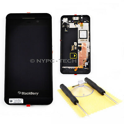 New LCD Display Touch Screen Digitizer + Frame For Blackberry Z10 4G 46537-001