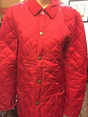Barbour Men's Pantone Chip Lifestyle Quilted Jacket, NWT, Quil Red, XL $199