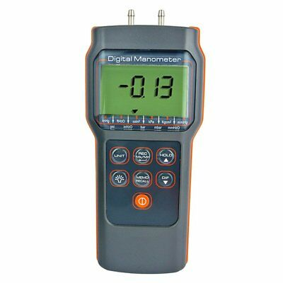 15.00psi Differential Pressure Meter Electronic Manometer Portable Test Tool
