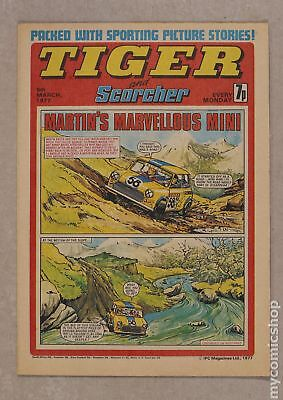 Tiger Tiger and Hurricane/Tiger and Jag/Tiger and Scorcher #770305 1977 VF 8.0