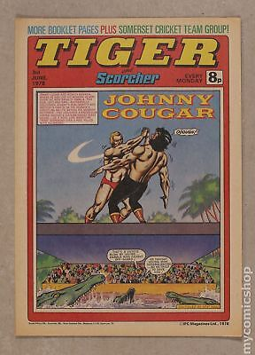 Tiger Tiger and Hurricane/Tiger and Jag/Tiger and Scorcher #780603 1978 VF 8.0