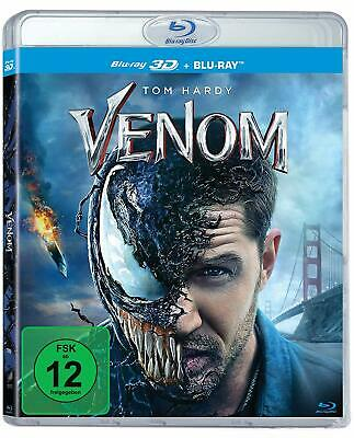 Venom (2018) 3D + 2D Blu-Ray Import BRAND NEW Free Ship (In Stock Now!)