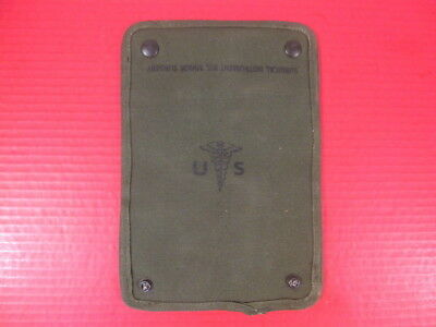 VIETNAM US ARMY Medical Corps Medic's Minor Surgical Kit Pouch - No  Instruments