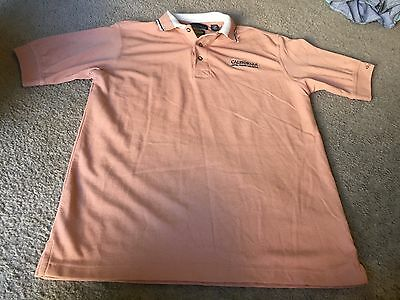 Nice men's size S Small Greg Norman California Hotel Casino Las Vegas polo shirt