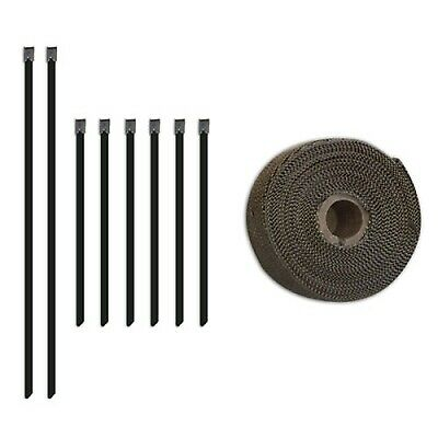 "Mishimoto 2"" x 35' Roll Car Exhaust Heat Wrap With Stainless Locking Tie"