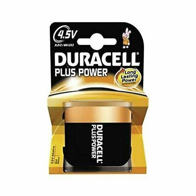 Duracell Power Plus 4.5V Batteries Lantern 3LR12 MN1203 Alkaline Battery 1 Pack