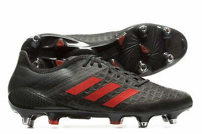 edbc3c585 adidas Mens Predator Malice Control SG Rugby Boots Sports Shoes Studs  Trainers