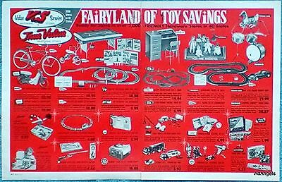 1966 True Value Fairyland Of Toy Savings Bicycle Racing Set Easy Bake Oven ad