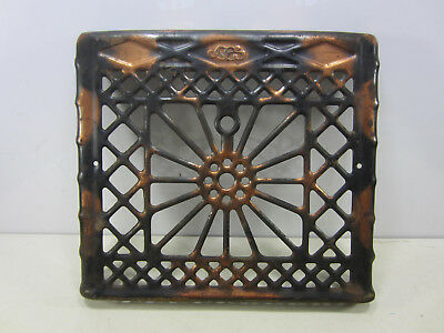 Antique Japanned Steel Wall Vent Cover- Orig. Finish  ASG#24