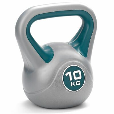 DKN 10kg Vinyl Kettlebell Strength and Fitness Training Weight Kettlebells