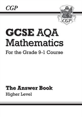 New Gcse Maths Aqa Answers For Workbook, CGP Books, CGP Books, 9781782943938