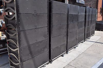EV / Electro-Voice Speaker XLC 127-DVX three-way  line array  (LOT OF EIGHT)