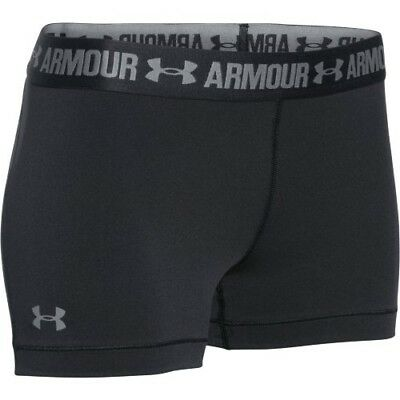 "Under Armour HeatGear 3"" Shorty - Women's - Black 1271777"