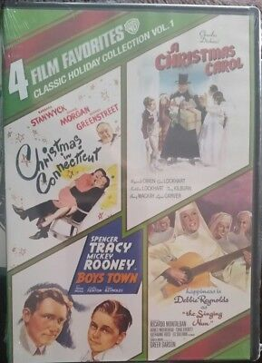 CHRISTMAS-Classic Holiday Collection, Vol. 1: 4 Film Favorites  DVD NEW