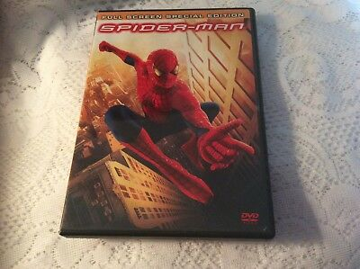 Spider-Man (DVD, 2002, 2-Disc Set, Special Edition Full Frame Tobey Maguire