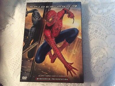 Spider-Man 3 (DVD, 2007) Tobey Maguire Kirsten Dunst James Franco