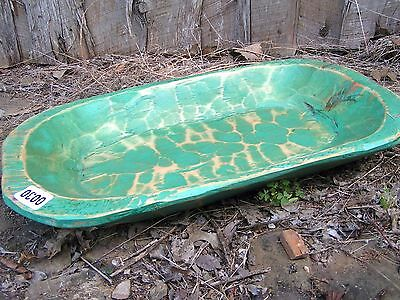 Wooden Farmhouse Dough Bowl Bread Trencher Made in USA 0030