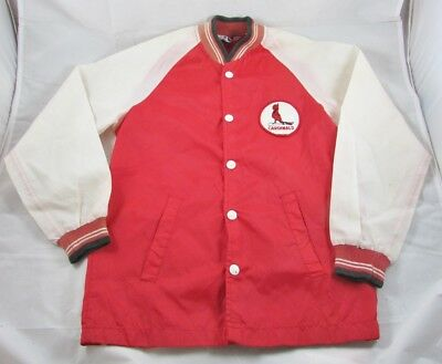St Louis Cardinals Jacket Windbreaker Stahl Urban Youth Size 12 Prop Theater 70s
