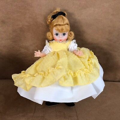 Amy Little Women Vintage Madame Alexander 8 inch Alexander-Kins sister yellow