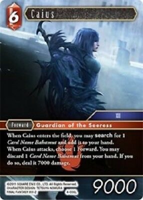 Caius	-	4-006L	-	Legend  -NM-  Final Fantasy TCG  OPUS 4 IV