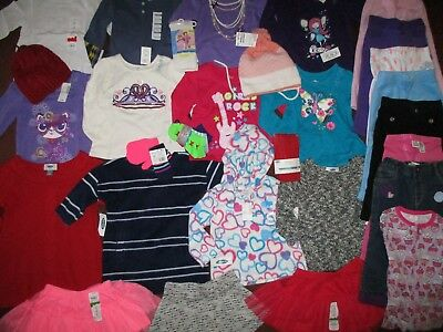 NWT'S Huge 32Pc. Girls 18-24 Months WINTER Lot Clothes & Outfits Old Navy TCP