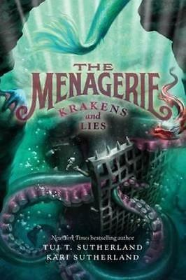 NEW The Menagerie By Tui T. Sutherland Paperback Free Shipping