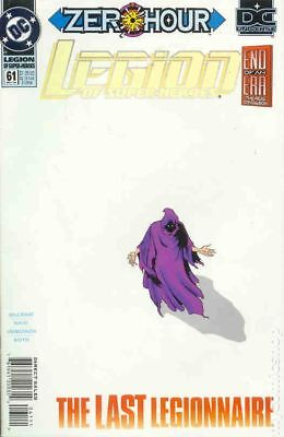 Legion of Super-Heroes (4th Series) #61 1994 VF Stock Image