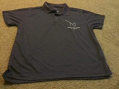 Nice men's size M Medium purple polo shirt M Resort Spa Casino Las Vegas