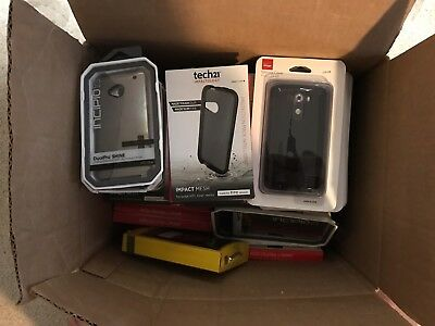 Lot of 135 New Retail Package Assorted Phone Cases for Many Phones over $1000