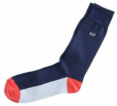 Vineyard Vines Men's Deep Bay Americana Cotton Socks