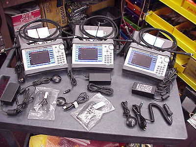 Anritsu S331L Sitemaster Test Set 2Mhz-4Ghz Freq Range- 3 Units -In Inventory