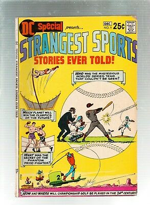 DC Special #9  Strangest Sports Stories Ever Told  DC Comics 1970