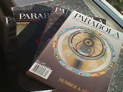 Parabola Magazine: Tradition, Myth & The Search for Meaning - 4 x 1999