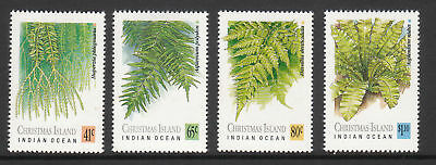 1989 Ferns of  Christmas Island -  MUH Complete